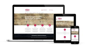 elliotthomes website design